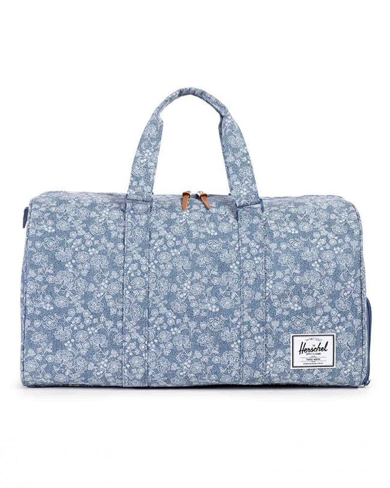 Novel Duffle Bag Blue Floral