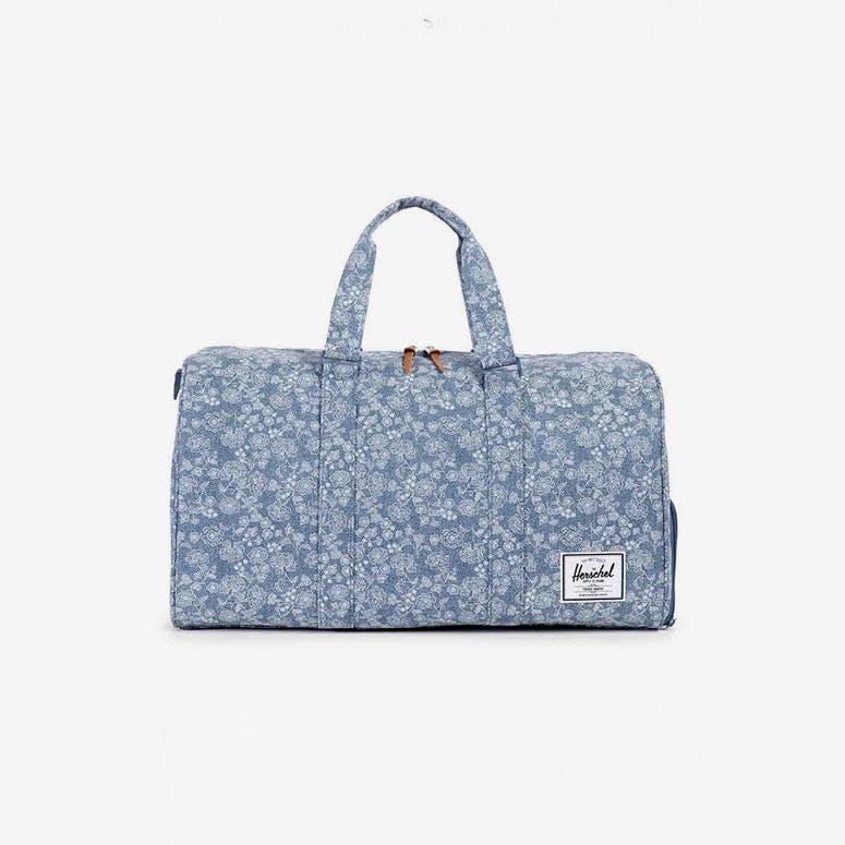 Herschel Bag CO Novel Duffle Bag Blue Floral – Culture Kings 4c0e5af54df91