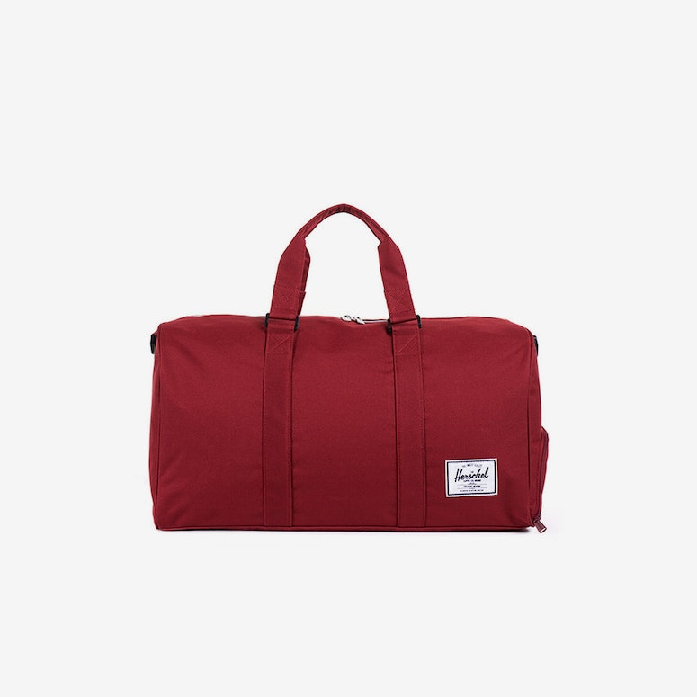 Hersch Bag CO Novel Bag Burgundy/white