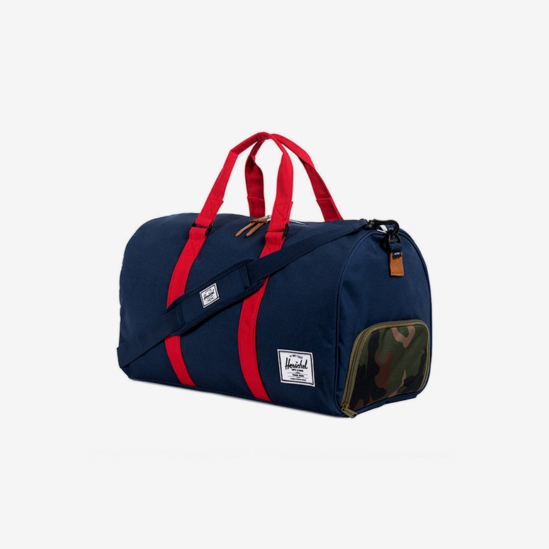 Hersch Bag CO Novel Bag Navy/red/camo
