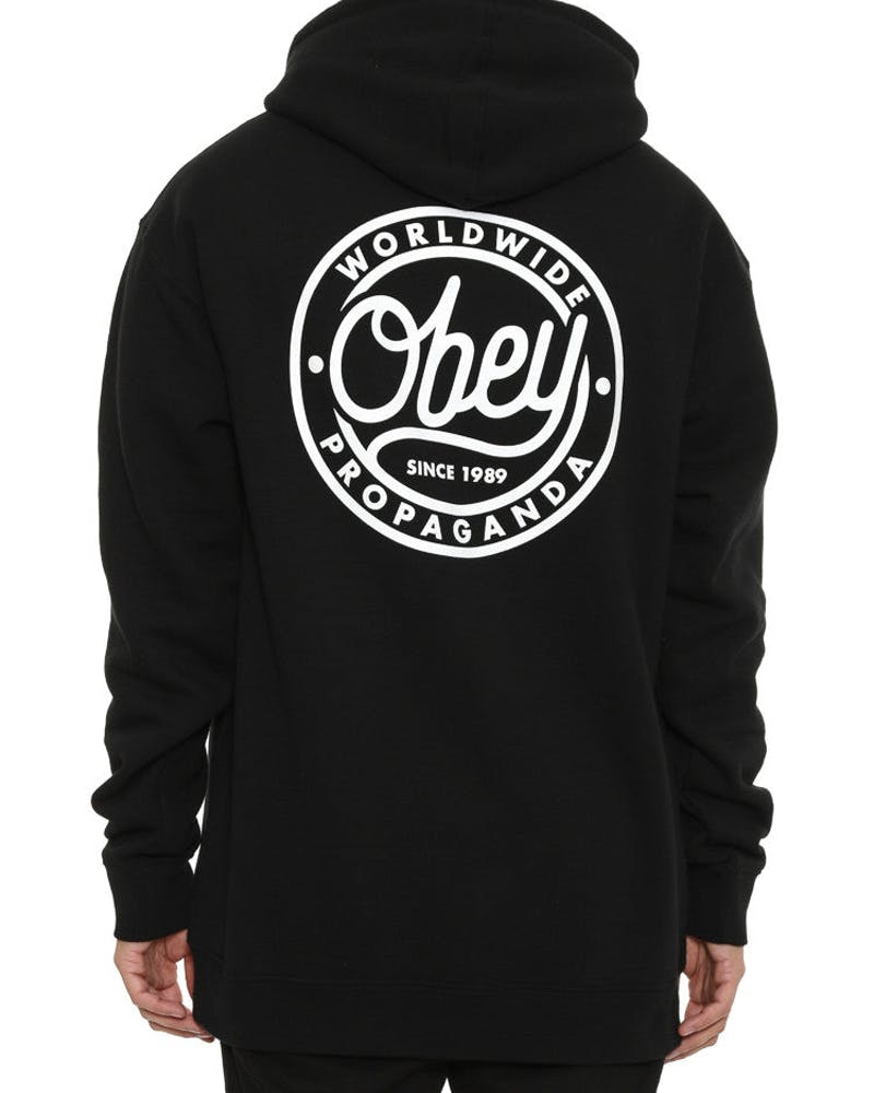 Obey Since 1989 Pop Over Black