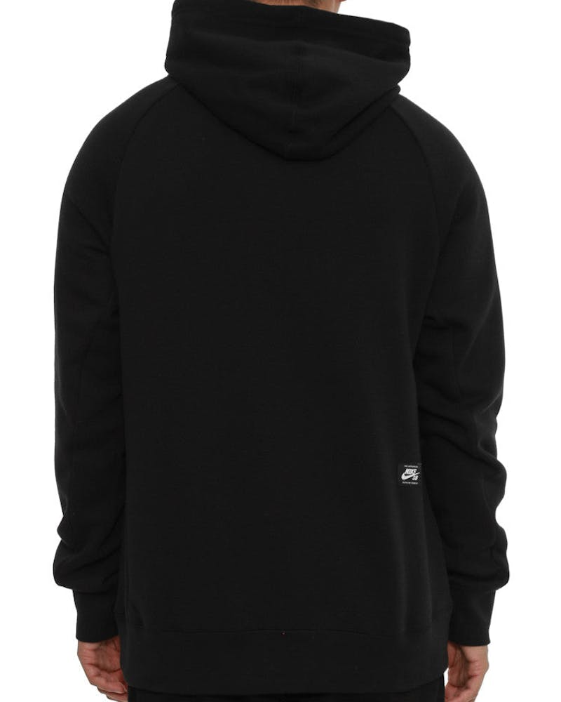 Icon Yarn-dye Pullover Hood Black/white