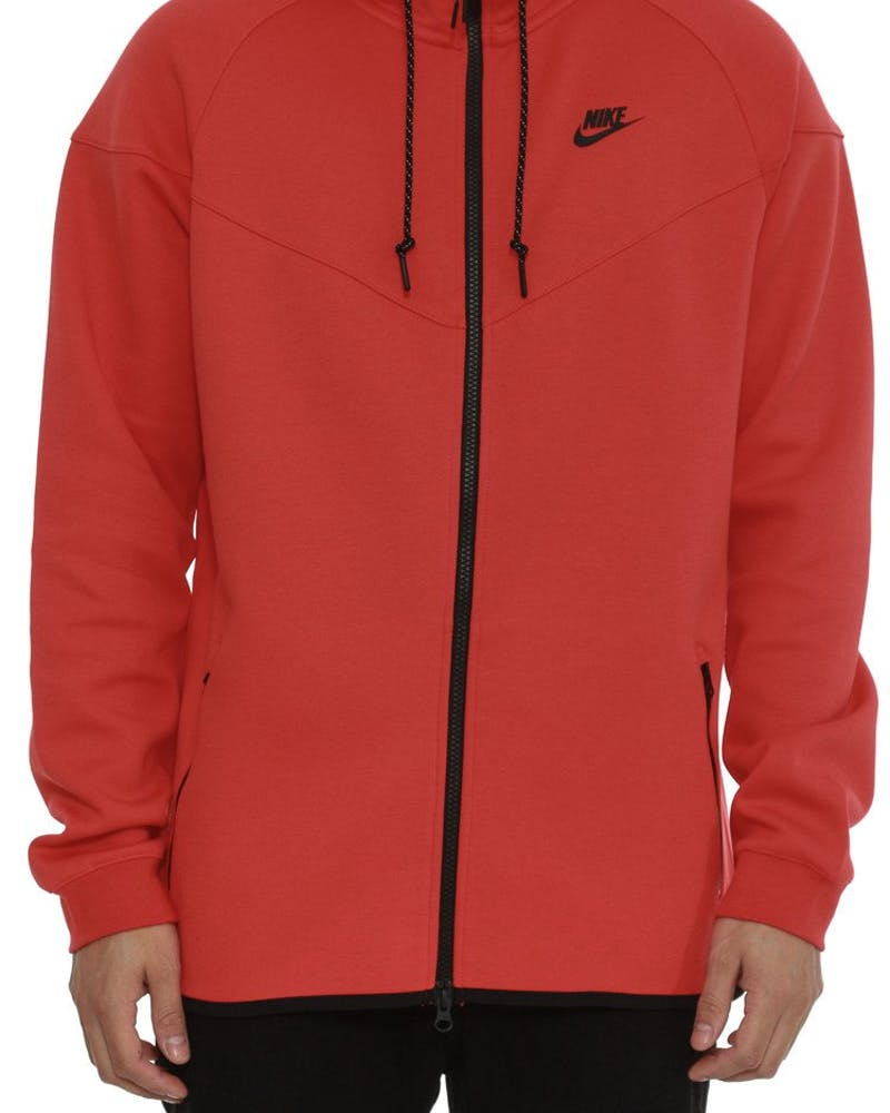 Tech Fleece Windrunner-1m Red/black