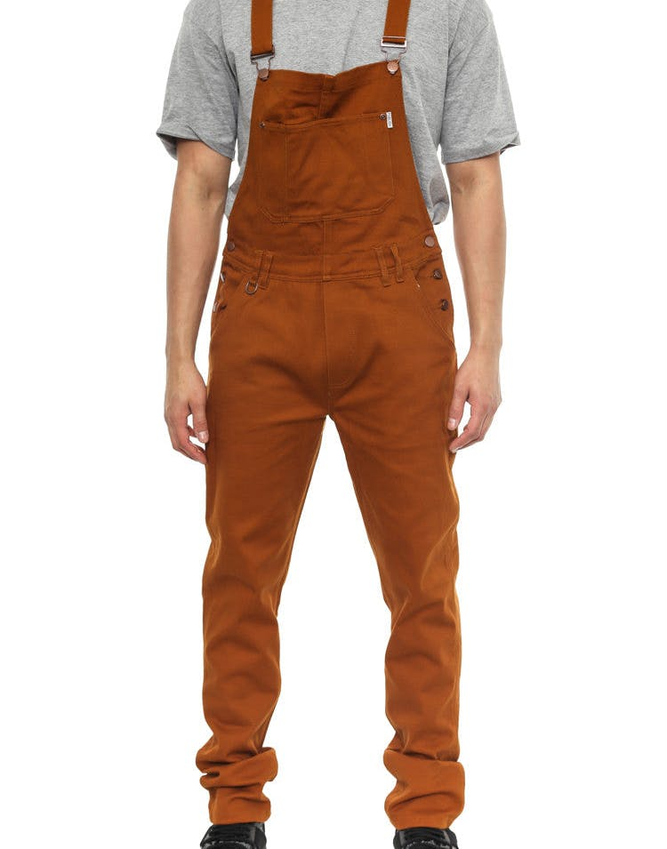 Sawyer Pant (overalls) Rust/brown