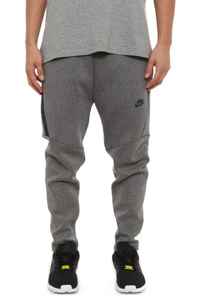 Tech Fleece Cropped Pants Grey/navy