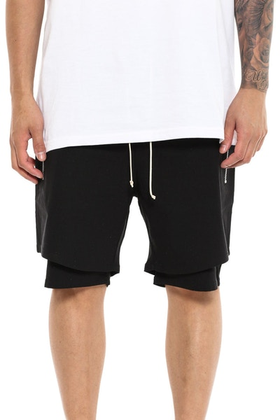 Jones Short Black/charcoal