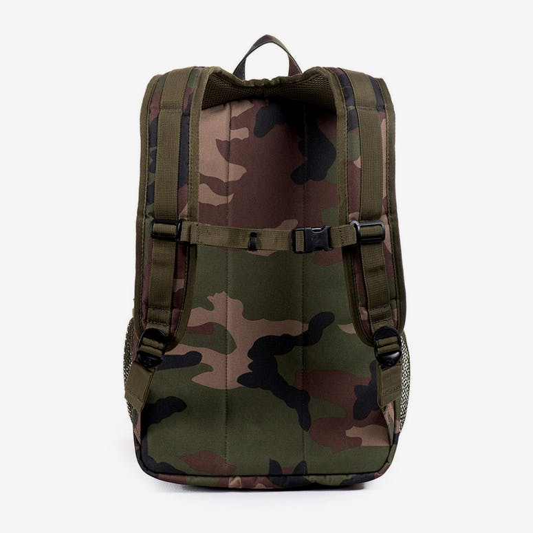 Parkgate Backpack Camo/orange