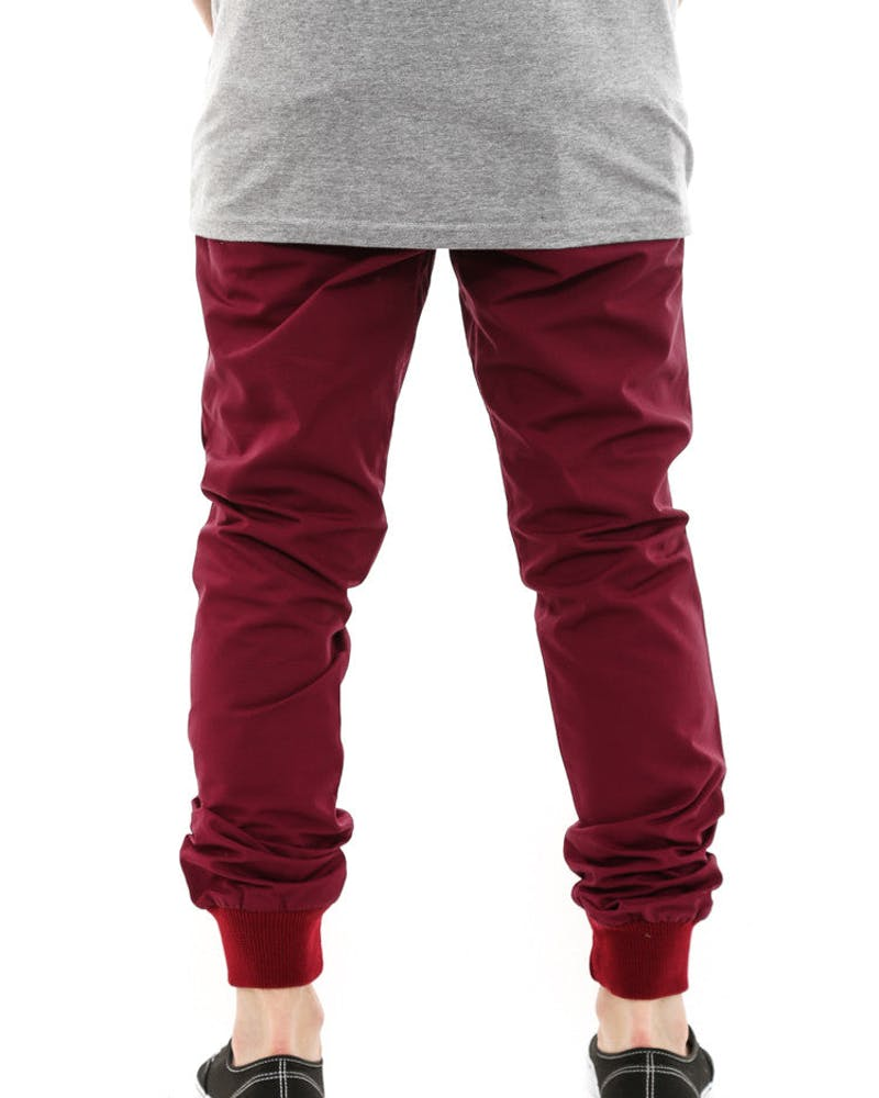 Jogger Fit Ripstop Wine
