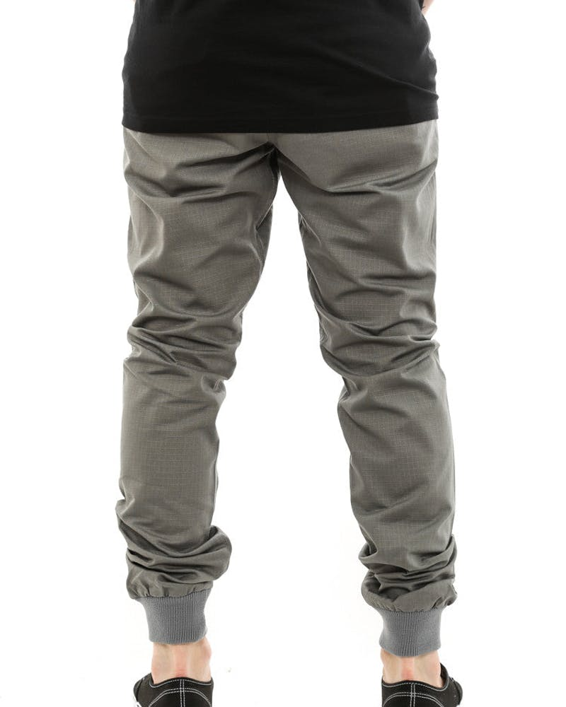 Jogger Fit Ripstop Silver