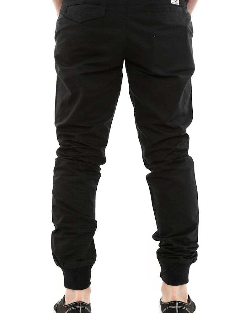 Jogger Fit Ripstop Black