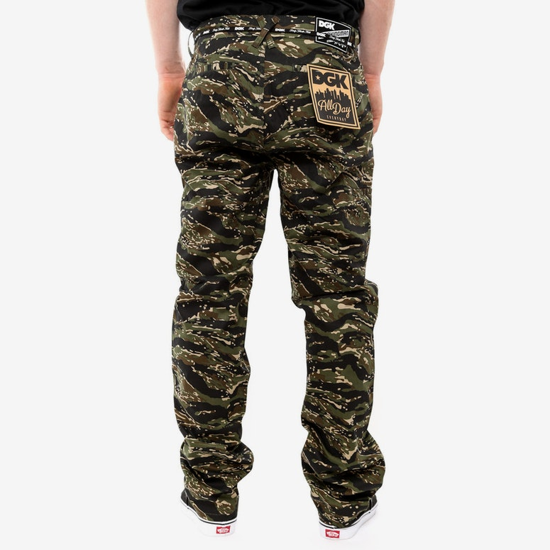 Working Man Chino Tiger Camo