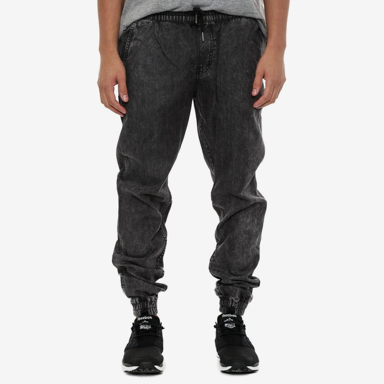 Eric Denim Joggers Black