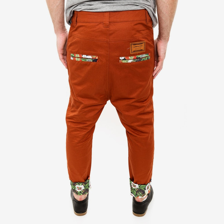 Gully Chino Pant Tobacco
