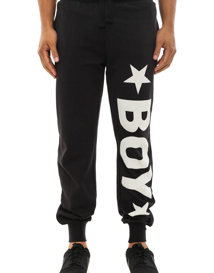 Boy London Joggers Black/white