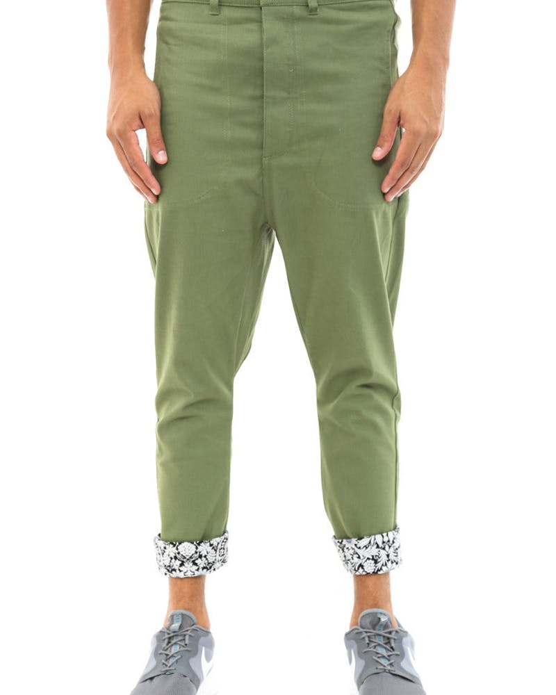Recon Pant Army Green/brow