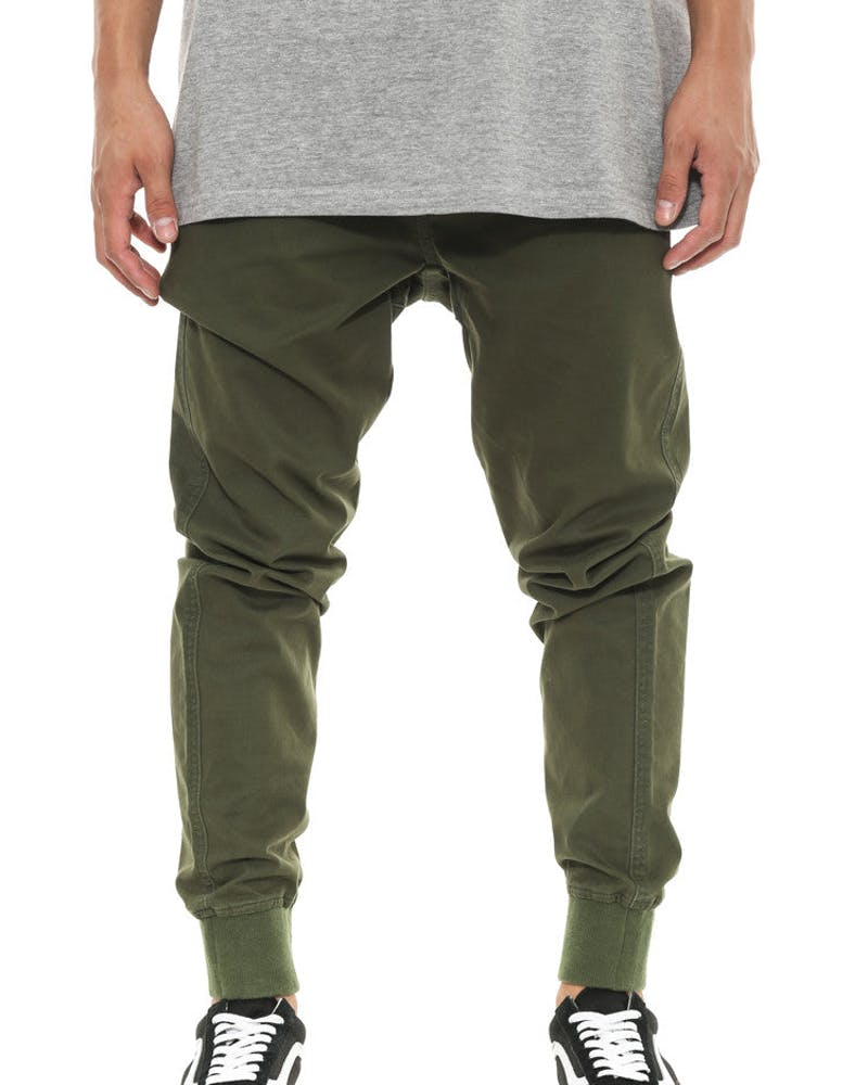 Defcon Pant Army Green