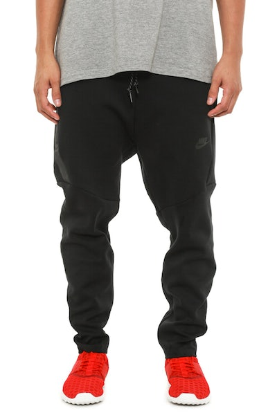Tech Fleece Cropped Pants Black/black