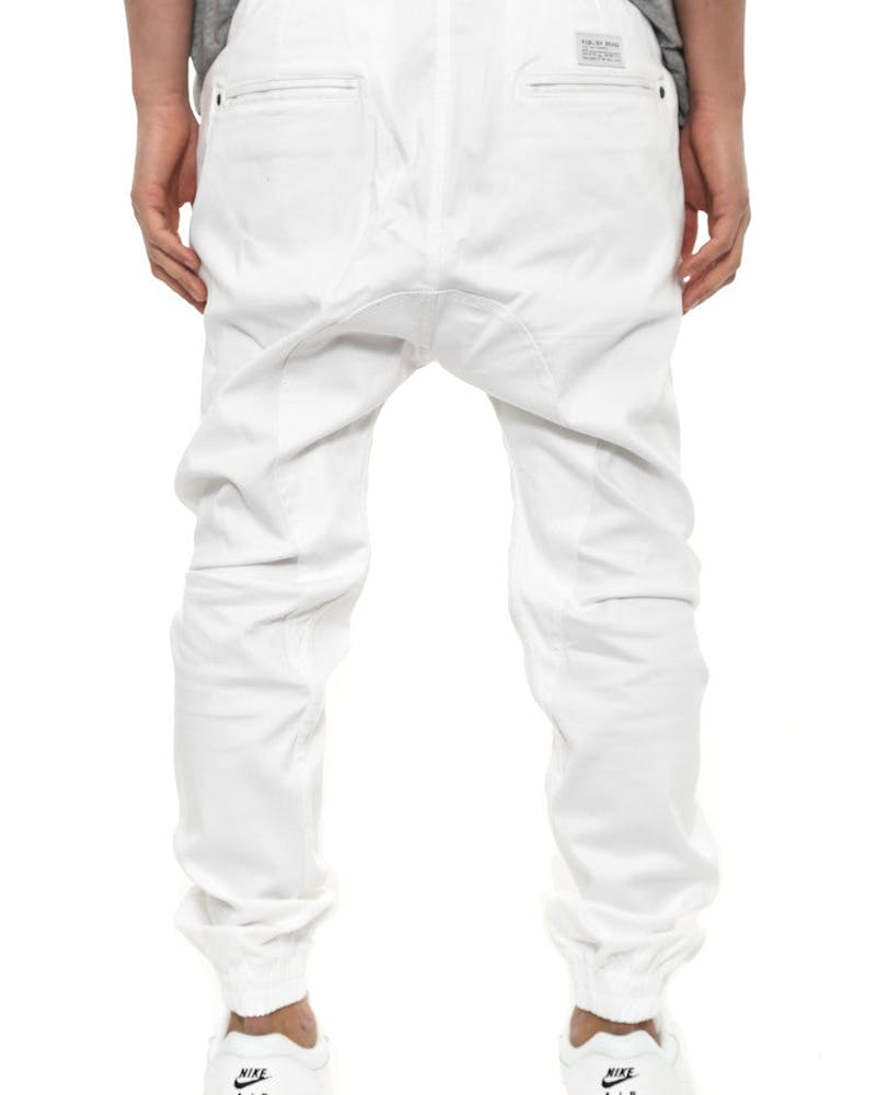 Arch Jogger Pant White