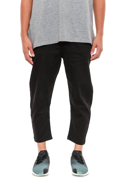 Slash 3/4 Pants Black