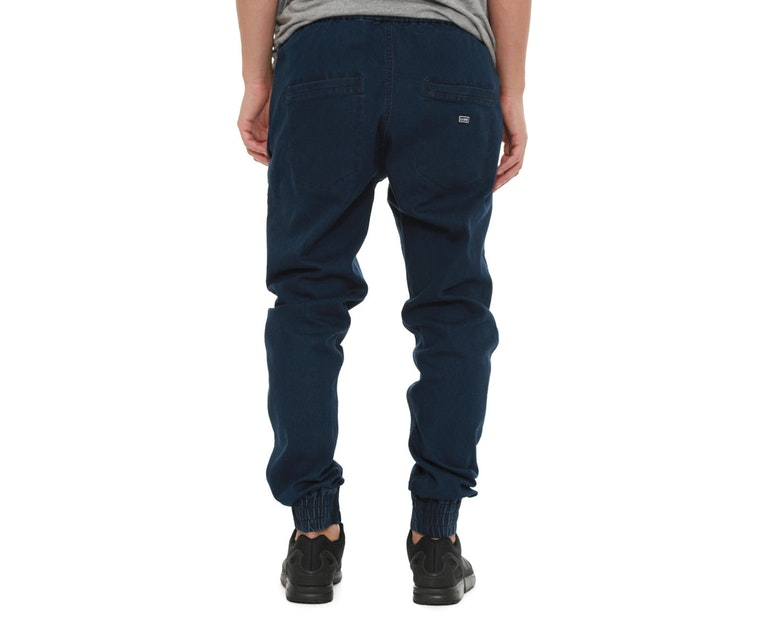 Propre Woven Joggers Dark Blue Denim
