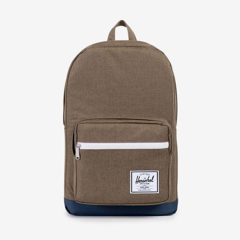 Herschel Bag CO Pop Quiz Backpack Brown navy – Culture Kings aeb31cb0dc732