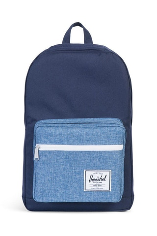 Pop Quiz Crosshatch Navy/indigo