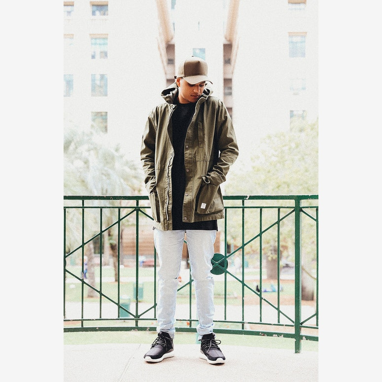 Freight Jacket Army Green