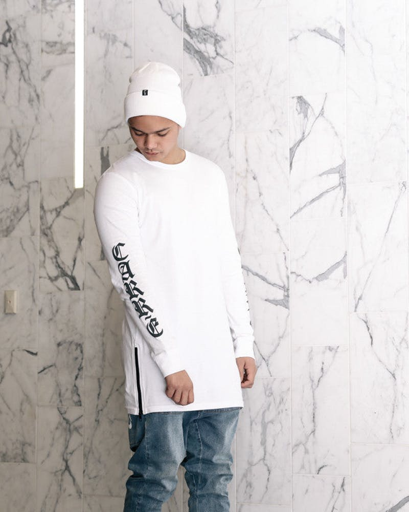Sanctity Capone 2 Long Sleeve Tee White
