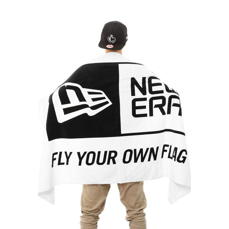 New Era Towel Black