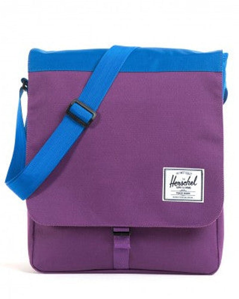 Scottie Messenger Bag 2 Purple/blue