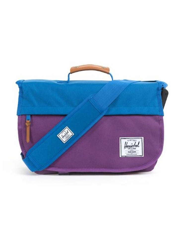 Mill Messenger Satchel Purple/blue