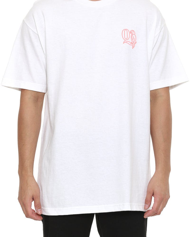 Parrot Short Sleeve Tee White