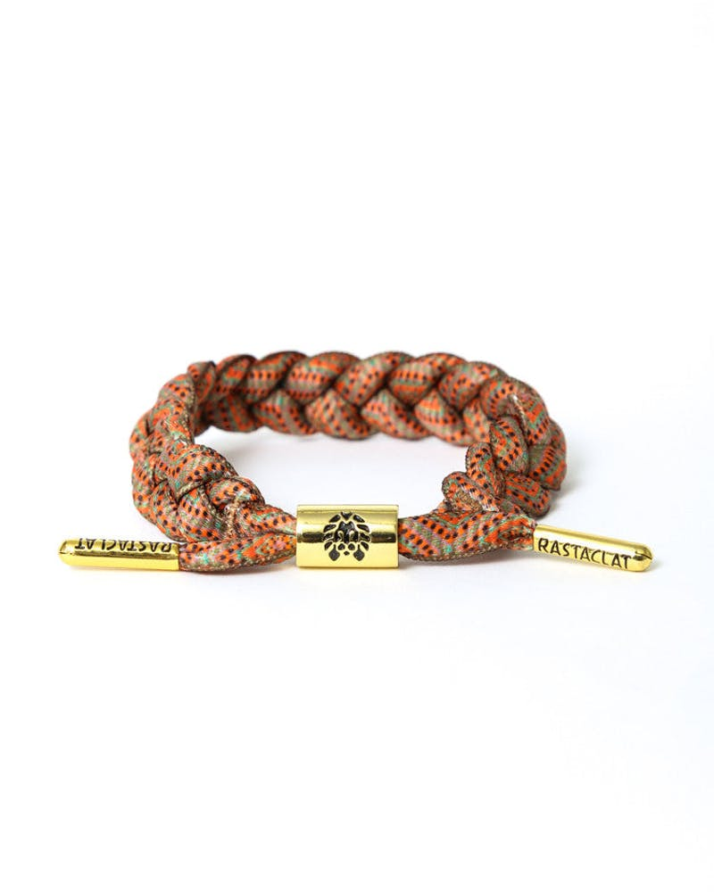 Rastaclat Bracelet 4 Orange/black/te