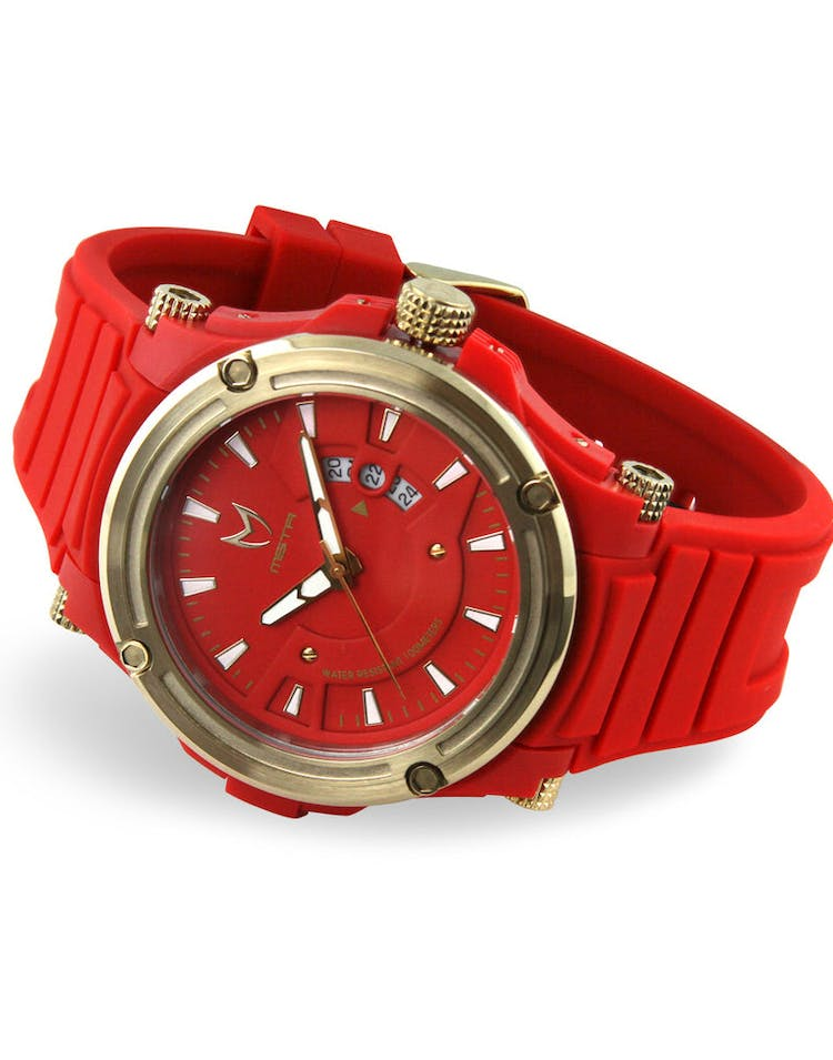Prodigy Rubber Band 2 Red/gold