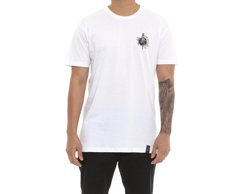 Rose & Dagger Tee White
