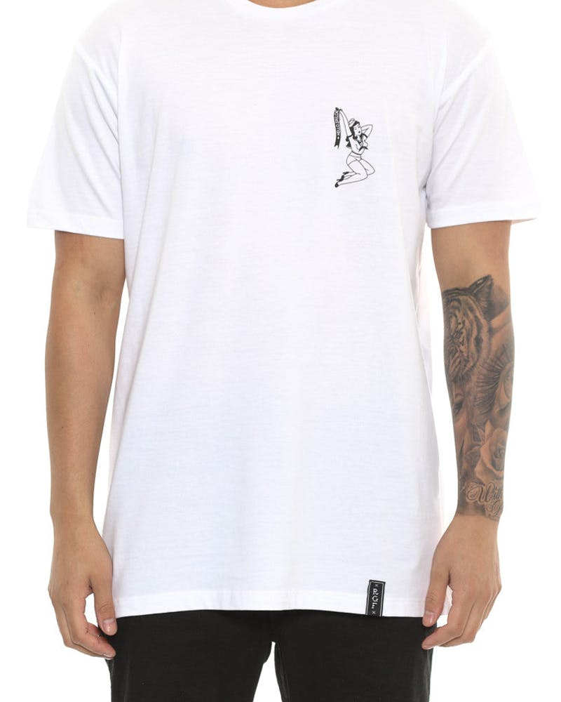 Hello Sailor Tee White
