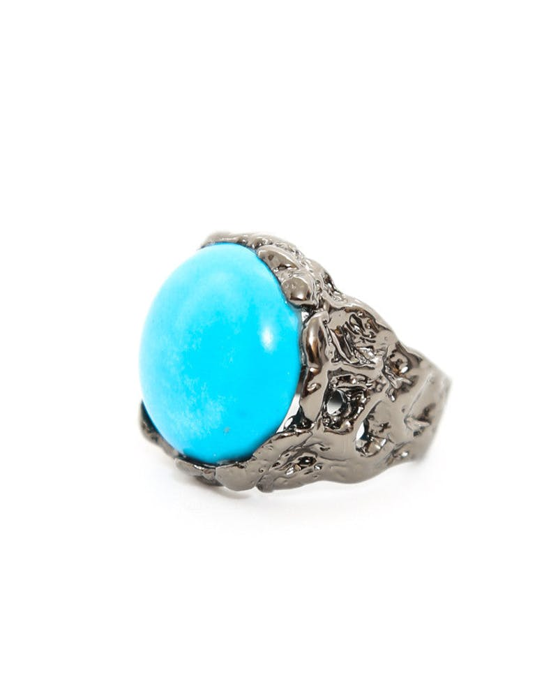 Native Ring Gunmetal/blue