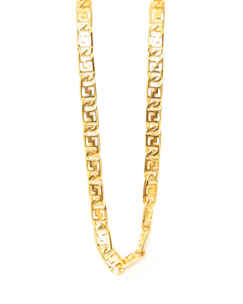 Domitian Thick Chain Gold