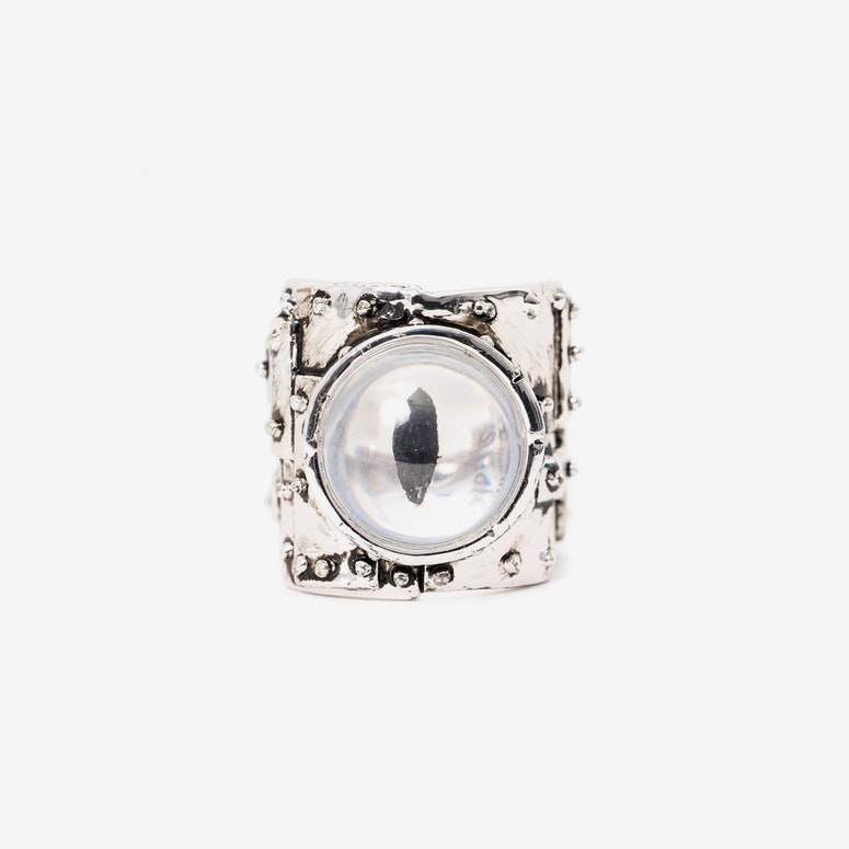 Heavy Metal Ring Silver
