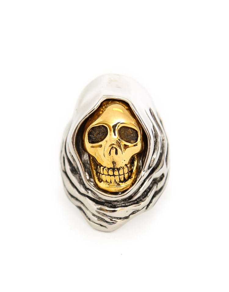 Grim Reaper Ring Silver/gold