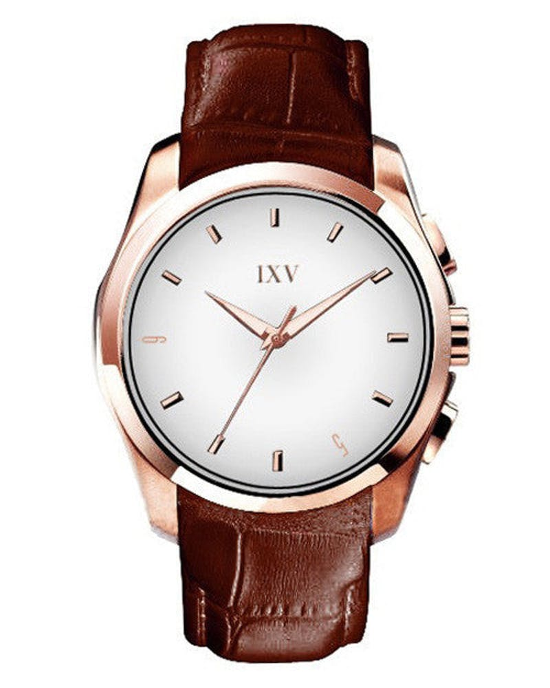 Ixv Roosevelt Watch Brown/gold