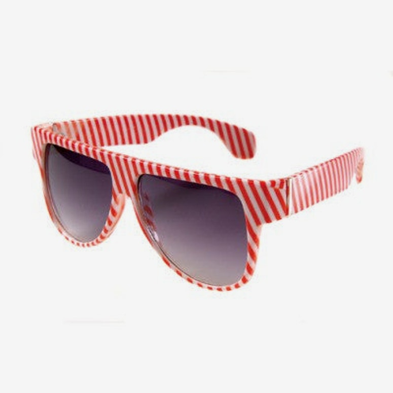 Spectra Sunglasses Red/white