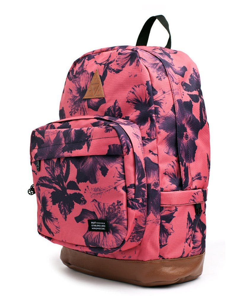 Floral Back Pack Salmon