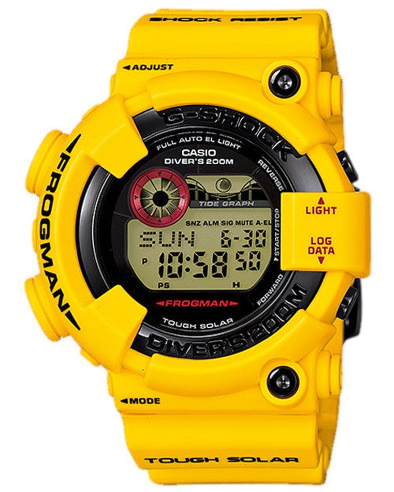 G-shock Frogman 30th Anni Yellow