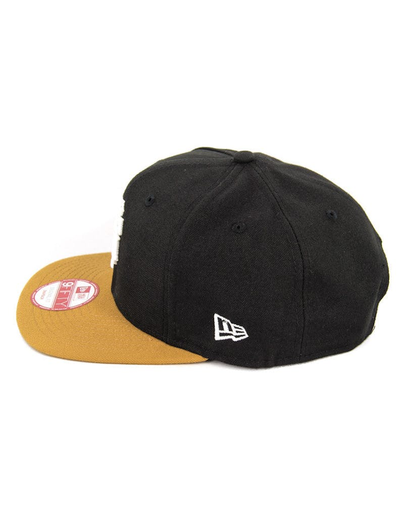 Giants Original Fit Snapback Black/tan/white