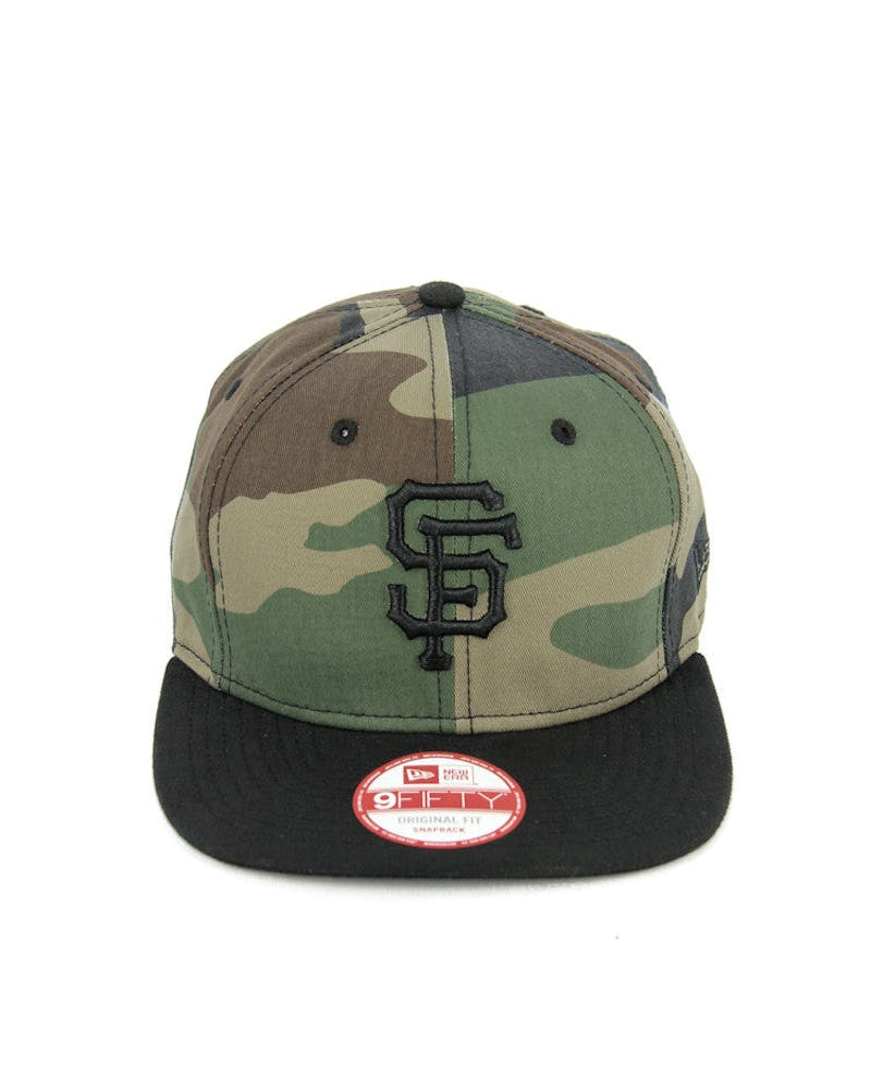 Giants Original Fit Snapback Camo/black