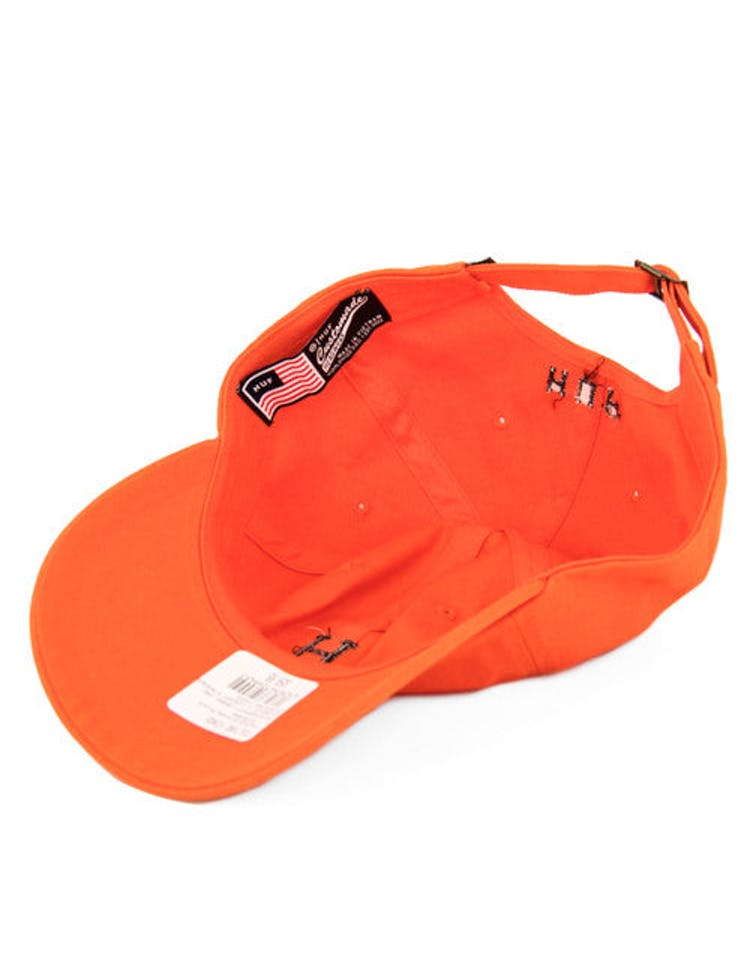 Classic H Curved Strapback Orange/black