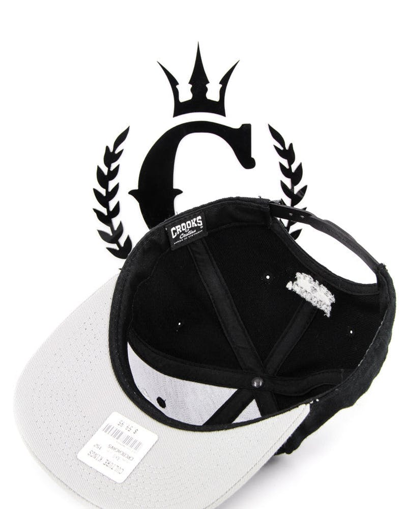 Cocaine Caviar Snapback Black/grey