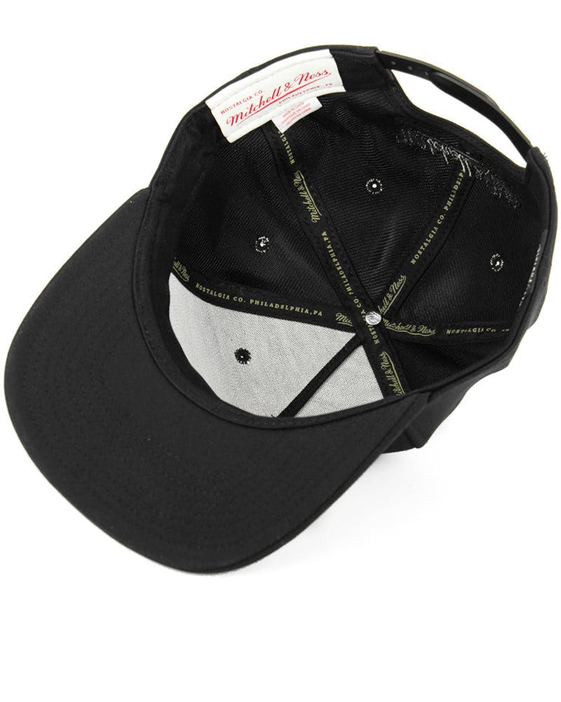 Spurs Neoprene Reflect Snapback Black