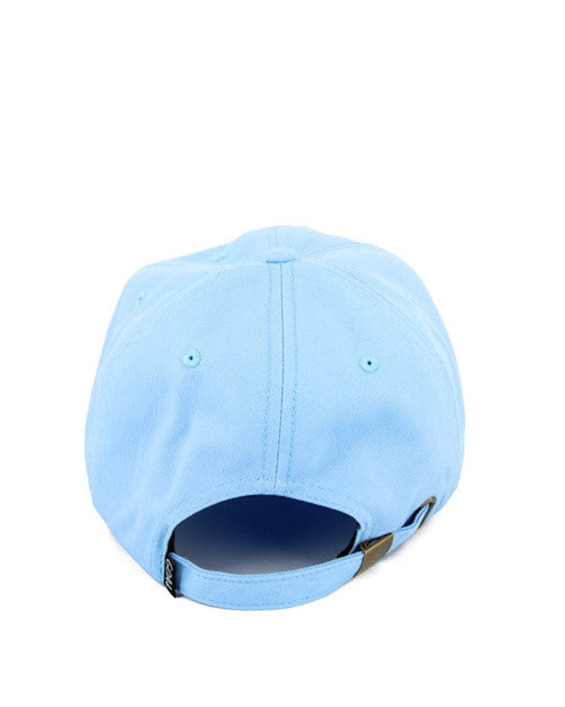 Faded Precurved Strapback Light Blue